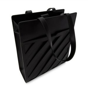 OFF WHITE DIAG Leather Tote Bag - Unisex